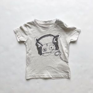 Small rags zombie bunny t-shirt  VGUC 12 months